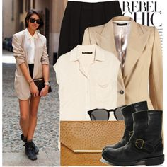"""351. Street Style: Paris"" by chocolatepumma on Polyvore"