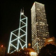 Hong Kong at night: http://www.ytravelblog.com/hong-kong-instagram-photos/ #Travel