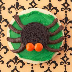 Spider Halloween Cookie