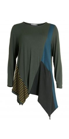 Alembika Jungle Mixed Asymmetric Top