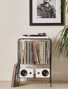 Melanie vinyl storage unit at Urban Outfitters