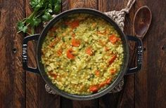 Cold-Fighting Couscous Chicken Soup - SoupAddict.com
