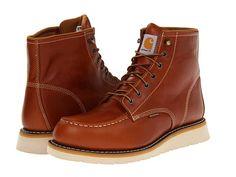 "Carhartt 6"" Moc Toe Wedge Boot Tan - Zappos.com Free Shipping BOTH Ways"