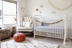 Nest Design Studio is known for its classic and creative style. Nest has worked with clients around the globe to transform spaces into unique and individual rooms. Nest Design, White Nursery, Nursery Neutral, Neutral Nurseries, Project Nursery, Nursery Decor, Nursery Ideas, Fox Nursery, Babies Nursery