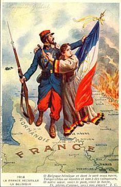 placard de propagande 1914