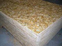 Viruta de madera para protección contra impactos.