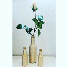 WEBSTA @ the.artesanato - 🌾🌿🌻#artesanato #feitoamao #garrafasdecoradas #diy #decoracao #flor #rosaamarela #clean #artesanatobrasil