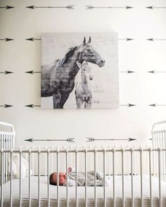 Arrow wall decals by @urbanwalls #baby #interior #walldecals