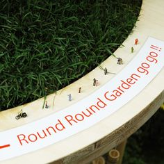 Round round garden go go