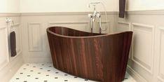 Vasca da bagno in legno Khis Bath