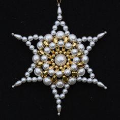 Beaded Stars : Morning Star - Large
