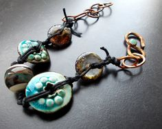 Hey, I found this really awesome Etsy listing at https://www.etsy.com/dk-en/listing/206399959/reduced-price-primitive-braceletthe-blue