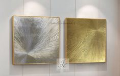 Large Abstract Acrylic Paintings Large Wall Art Set of 2 image 3 Large Canvas Art, Abstract Canvas Art, Oil Painting Abstract, Texture Painting, Large Wall Art, Painting Frames, Acrylic Paintings, Gold Accent Pillows, Gold Wall Decor