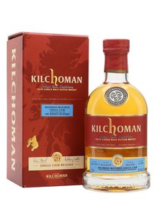 Made in 2007 at Kilchoman distillery, this Islay single malt has been matured in a single ex-bourbon cask for 11 years, before being bottled exclusively for The Whiskey Exchange's anniversary. Whisky Islay, Scotch Whisky, Whisky Tango, Single Malt Whisky, Distillery, Bourbon, Whiskey Bottle, Wines, Liquor