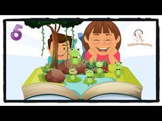 5 Green Speckled Frogs Song (with lyrics) - Sing A Long and Learn To Count Numbers Songs For Toddlers, Kids Songs, Singing Lessons For Kids, Frog Nursery, Frog Song, Kids Nursery Rhymes, Learn To Count, Songs To Sing, Song Lyrics