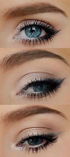 Sensillo y delicado, ideal para el maquillaje diario♥
