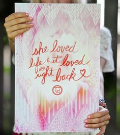 Yes. Yes. Yes. :: Rose Quartz Wall Art from Tiny Devotions