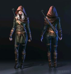 RPG Female Character Portraits (Search results for: Rogue )