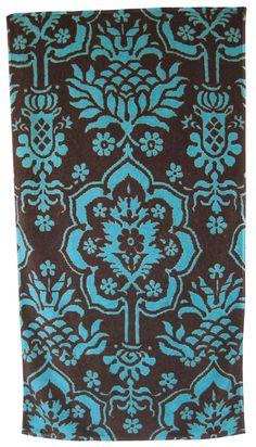 Alladin Bath Towels In Orange Design By Fresco Towelsbeach Towel - Orange patterned towels for small bathroom ideas