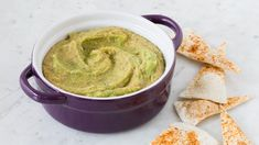 Love hummus and guacamole? Try Humamole—the best of both dips in one combo. Mashed Avocado, Ripe Avocado, Guacamole, Epicure Recipes, Dairy Free, Gluten Free, Recipe Search, Appetizer Dips, Vegan Vegetarian