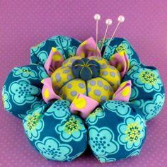 Flower Pincushion Pattern Tutorial Cactus Blossom by LaTodera, $9.00