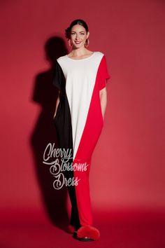 Long Summer dress/ Maxi dress/ Casual by cherryblossomsdress