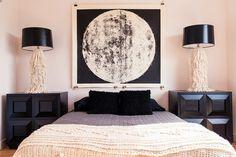 Très grand tableau de lune non montés la par AgentGallery sur Etsy, $675.00