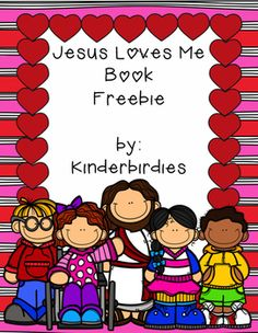 "This FREEBIE is a great little valentine themed book that students can put together to sing Jesus Loves Me!  I hope you and your students enjoy!Thanks,KinderbirdiesPlease leave feedback and ""follow"" Kinderbirdies to receive emails about new products and upcoming sales!"