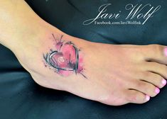 Increible Corazón en Acuarelas by Javi Wolf