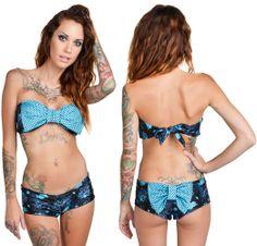 5d9349e2cec68 Ariel Bikini by Too Fast Clothing - Sea Galaxy Ariel Bikini