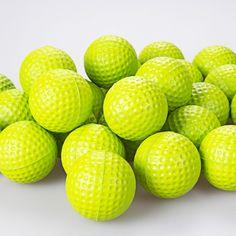 Free Shipping New 30pcs Green PU Foam Golf Balls Sponge Elastic Indoor Outdoor Practice Training | #GolfBalls