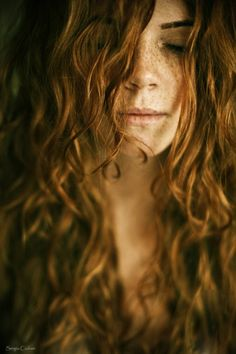 Freckles and red hair. An Irish myth? By unknown author. Repinned by WI/IE. _____________________________Do feel free to visit us on http://www.wonderfulireland.ie/ for lots more pictures and stories of beautiful Ireland