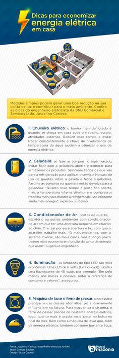 Especialista dá dicas para economizar energia elétrica em casa, em Manaus - Portal Amazônia
