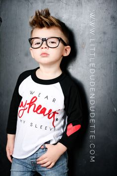 Valentine's Day shirt for Boys and Girls Fashion ❤️