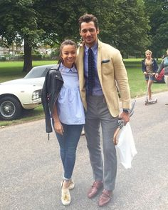 This handsome young man asked me for a photo at the Concourse d'Elegance. Would've been rude to say no..  @davidgandy_official : @cl89cl