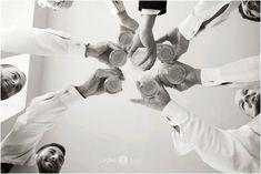 Groomsmen & Bridal party & Cheers & Getting ready & Wedding day & Blac& Groomsmen & Bridal party & Cheers & Getting ready & Wedding day & Black and white & Aislinn Kate Photography The post Groomsmen Groomsmen Wedding Photos, Beach Wedding Photos, Wedding Poses, Wedding Ideas, Wedding Dresses, Wedding Inspiration, Diy Wedding, Groomsmen Poses, Wedding Beach