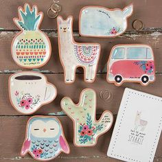 These Santa Fe Trinket Dishes are so fun and giftable! The loveable shapes, simple and ready-to-wrap boxes and sweet sentiments make them perfect for giving to family and friends!