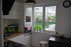 Дизайн угловой белой кухни 6 кв.м в Минске (13 фото)