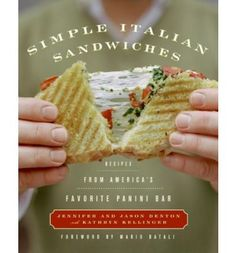 """Read """"Simple Italian Sandwiches Recipes from America's Favorite Panini Bar"""" by Jennifer Denton available from Rakuten Kobo. With nothing more than a panini grill, a toaster oven, and a few simple ingredients, Jennifer and Jason Denton bring the. Panini Grill, Panini Sandwiches, Italian Sandwiches, Gourmet Sandwiches, Panini Press, Ww Recipes, Sandwich Recipes, Lunch Recipes, Mozzarella"""