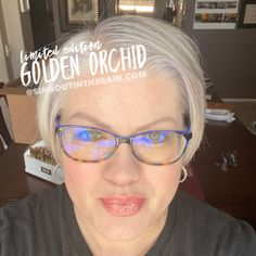 Limited Edition Golden Orchid LipSense by SeneGence is a cool color. You can view it on people, look at combos or comparisons or even in a collage.  However, nothing rivals seeing it on a real person.  Click to purchase yours NOW!  #lipsense #senegence