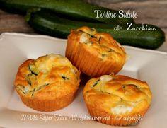 Tortine salate zucchine e scamorza soffici e filanti