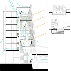 PRESENTATION DRAWINGS - UNIVERSITY OF WATERLOO, Canada - student projects http://uwaterloo.ca/architecture/student-project-gallery posted by ik
