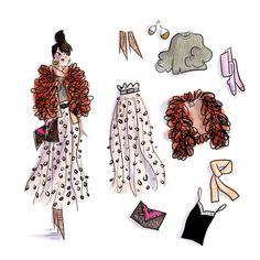 Woman Illustration, Illustration Sketches, Girl Illustrations, My Past Life, Paris Shopping, Like Image, Girly Girl, News Design, Baby Animals