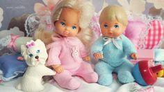 Li'l Friends of Barbie Baby Barbie, Barbie Miniatures, Barbie Kelly, Happy Family, Cute Dolls, Rose Buds, Fashion Dolls, Marie, Dinosaur Stuffed Animal