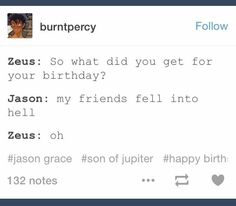 I don't realize that it was still Jason's birthday when they fell.