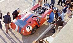 Le Mans 1964. Maserati 151 V8 4.9 litres. André Simon, Maurice Trintignant.