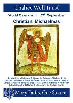 My favorite fall festival in the Waldorf schools World Calendar, Calendar 2014, St Michael, Michael Gabriel, Glastonbury Tor, Anglican Church, Mabon, Community Events, Roman Catholic