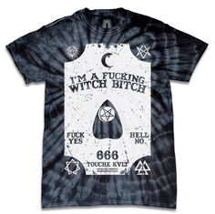 OUIJA WITCH BITCH TIE DYE