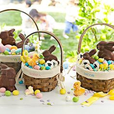 Our Sunday Best-Who like me remember's waking up bright and early on Easter morning to unwrap the basket of treats that the Easter Bunny left us? By French Country_ Fat Bottom Girls