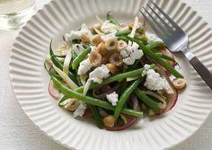 Belgian Endive, Haricot Vert, and Hazelnut Salad